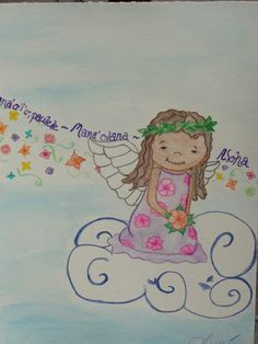 Inspiration from my little niece, Emma! She's a cutie.