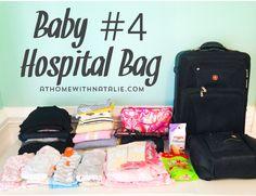 BABY4 HOSPITAL BAG - ATHOMEWITHNATALIE