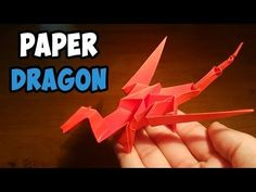 Origami For Kids Dragon Easy Origami Dragon Instructions For Kids Ideas Art And Craft Projects. Origami For Kids Dragon Origami Dragon Jo Nakashima. Easy Origami Dragon, Easy Origami For Kids, How To Make Origami, Origami Toys, Origami Animals, Origami Paper, Paper Dragon Craft, Dragon Crafts, Fun Easy Crafts