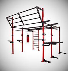 Bodymax Zenith Line Functional Training Rig - Power Racks - Strength at Powerhouse Fitness Outdoor Gym, Outdoor Workouts, Gym Workouts, At Home Workouts, Outdoor Fitness, Workout Routines, Parkour Equipment, Martial Arts Training Equipment, Play Equipment