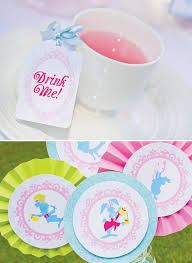Alice in wonderland cupcake edible toppers - Google Search