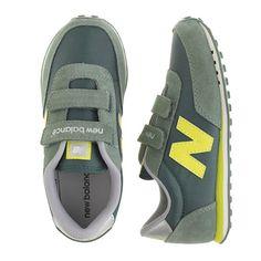 J.Crew - Kids' New Balance® for crewcuts KE410 Velcro® sneakers in olive