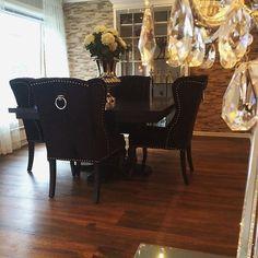 Spisestue fra @classicliving hos @bestemornilsen  Det ble så flott.  #Repost @bestemornilsen ・・・ Forelsket i min nye spisestue ☺️ #classicliving #takkforgodservice #interior4all  #interiors #diningroominspo