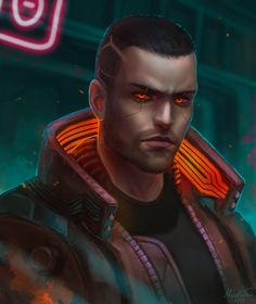 Arte Cyberpunk, Cyberpunk 2077, Shadowrun Rpg, Character Art, Character Design, Video Game Characters, Fictional Characters, Cyberpunk Character, City Boy