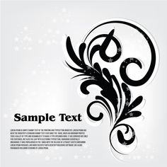 Floral White Background Free Vector - http://www.dreamstock.net/floral-white-background-free-vector/