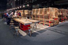 Messestand des Girsberger Massivholzhandels bei der Messe Holz 19 in Basel - Standdesign  Wir verfügen über erlesenstes Holz in ungewöhnlichen Längen und Stärken.  #girsberger #girsbergermassivholz #massivholz #massivholzhandel #möbelholz #standdesign #messestand #holz19 #fairstand #ulme #nussbaum #eiche #esche #swissdesign  Standdesign & Fotos: André Bolliger Basel, Furniture, Home Decor, Photos, Solid Wood, Elm Tree, Oak Tree, Timber Wood, Homes