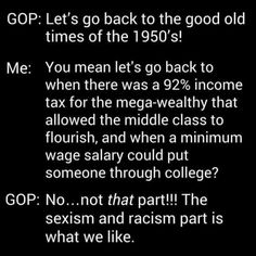 YUP and there were MORE income brackets as well, so the wealthy didn't get all these tax cuts