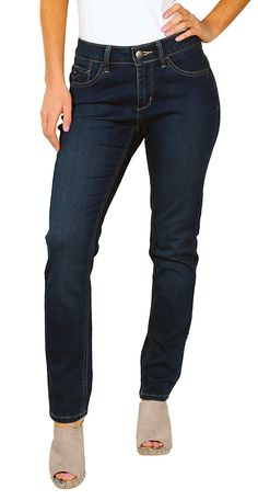 Lee Misses Platinum Label Skinny Stretch Easy-Fit Jeans -- This is an Amazon Affiliate link. To view further for this item, visit the image link.
