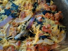 PaleOMG – Paleo Recipes – Sausage Spaghetti Squash Bake