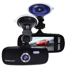 "Kingmak G1W Original Night Vision Dashboard Camera - Full HD 1080P H.264 2.7"" LCD G-Sensor LDWS FCWS Parking Monitor Motion Detection 4X Zoom"