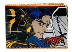 Pop art billetera