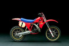 Game Changer - 1982 HRC Factory RC250... Honda's first AMA Motocross and Supercross championship-winning bike. This bike was so far ahead of where the competition was that it wasn't even possible to compare them side by side... keep in mind this bike is now 33-years old.