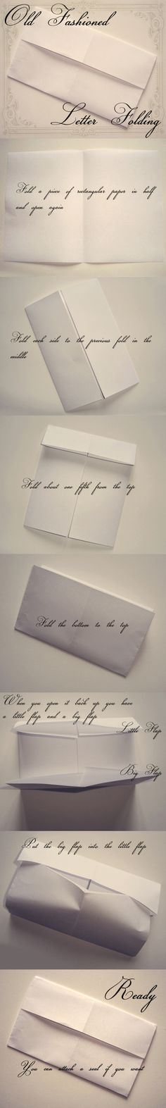 letter the old fashioned way - just like in Jane Austen films.Folding letter the old fashioned way - just like in Jane Austen films. Jane Austen, Diy Gifts Just Because, Letter Folding, Bujo, Handwritten Letters, Letter Writing, Mail Art, Love Letters, Thank You Gifts