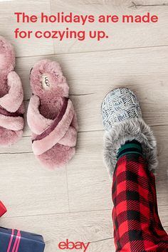 When the weather gets cold it's the perfect time to get nice and cozy. Soft, fluffy slippers are a total must-have for those days off or lounging like a boss during the holidays. Head to eBay and find the comfiest pairs.