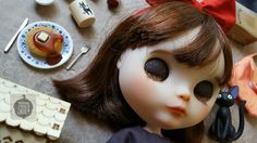 Kiki's Delivery Service inspired Blythe doll by Tama Soto