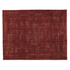 Amira Hand-knotted Wool Rug - Amira Rug in Paprika - Modern Rugs - Room