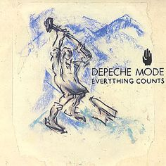 "For Sale -Depeche Mode Everything Counts - 1st Issue + P/S UK  7"" vinyl single (7 inch record)- See this and 250,000 other rare and vintage records & CDs at http://eil.com/"