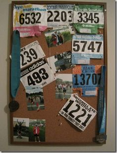Great idea for pinning your race bibs.