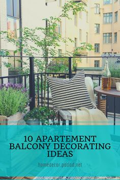 15 Enjoying Summer Balcony Decor Ideas - Home Design