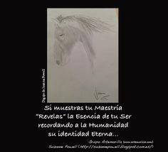 """Si muestras tu Maestría """"Revelas"""" la Esencia de tu Ser recordando a la Humanidad su identidad Eterna... // Dibujo de Joanna Powell // Grupo Artemorilla (www.artemorilla.com) // Suzanne Powell (http://suzannepowell.blogspot.com.es/)"""