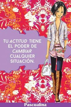 Tu actitud... Me Quotes, Qoutes, Maria Jose, Short Inspirational Quotes, Cute Girls, Real Life, Hollywood, Thoughts, Memes