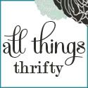 All Things Thrifty Home Accessories and Decor [reupholstering, painting furniture, glazing, spray paint]