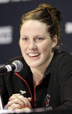 American swimmer Missy Franklin