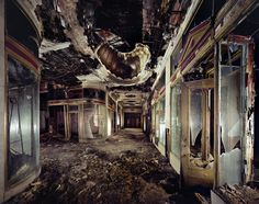 """Imagini pentru """" Yves Marchand and Romain Meffre """"The Ruins of Detroit"""""""