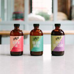 Juice label colors