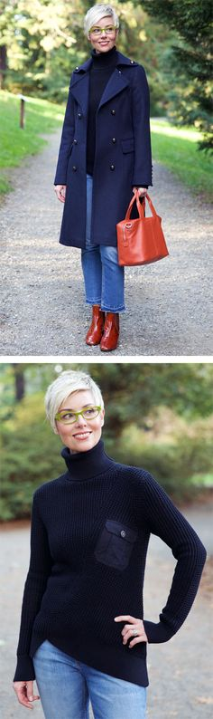 New Fall Proportions in Rust & Blue - YLF