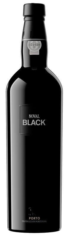 Wine Labels - Noval Black wine of Portugal - Porto