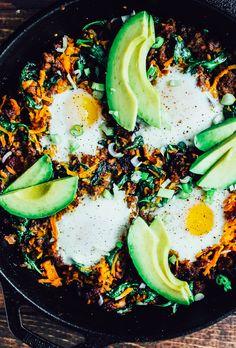 Paleo Breakfast Skillet, a great #paleo, #healthy, #glutenfree, #grainfree, #dairyfree, #whole30 #recipe