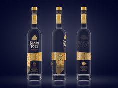 Belaya Rus' Vodka on Packaging of the World - Creative Package Design Gallery