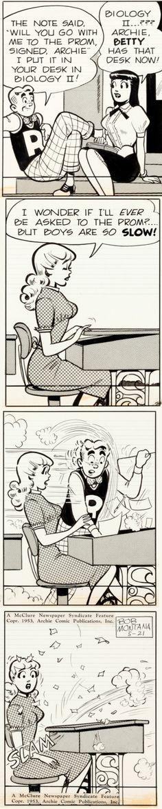 Archie Comics Strip by Bob Montana