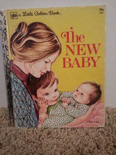 Check out this item in my Etsy shop https://www.etsy.com/listing/501873001/the-new-baby-copyright-1978-by-ruth-and