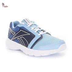 Reebok Royal EC Ride, Chaussures de Sport Femme, Azul/Blanco (Zee Blue/White), 42 EU