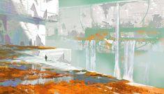 destiny 2 concept art nessus plateaus