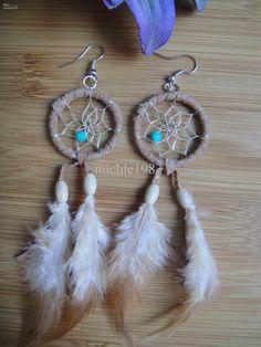 dibujos de atrapasueños indios | Native American Style Dream Catcher Earring Online with $3.06/Pair on ...