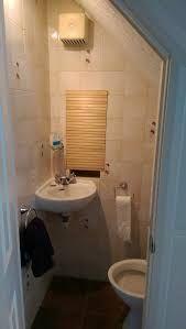 under stairs loo Understairs Toilet, Downstairs Toilet, Under Stairs, Bathtub, Small Bathrooms, Basement, House, Image, Furniture