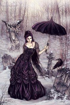 victoria frances poster parasol girl fantasy art is part of Victoria frances - Victoria Frances Poster, Parasol Girl Fantasy Art Darkart Gothic Gothic Vampire, Vampire Art, Dark Gothic, Fantasy Kunst, Fantasy Art, Gothic Kunst, Black Umbrella, Umbrella Art, Dark Fantasy