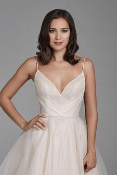 Lazaro Dresses, Lazaro Wedding Dress, Wedding Gowns, Lazaro Bridal, Deb Dresses, Special Dresses, Wedding Bells, Jana Kramer, Wedding Dress Pictures