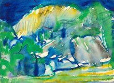 Romare Bearden, UNTITLED (LANDSCAPE), Jerald Melberg Gallery