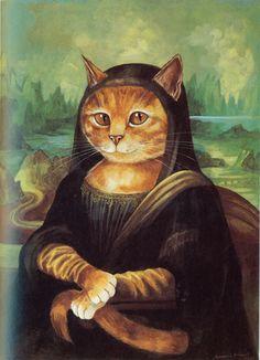 artemida:  Kitty Mona Lisa via shroomery.org