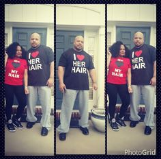 Get the shirt www.globalcouture.net Natural Hair Shirts, Natural Hair Styles, Black Love, King Queen, Sporty, Tumblr, Queens, Couples, Fashion