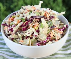 Sweet and Spicy Cole Slaw