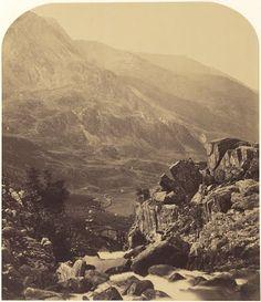 View from Ogwen Falls into Nant Ffrancon