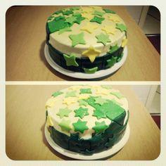 Verde que te quiero verde, tarta especial fondant cumpleaños