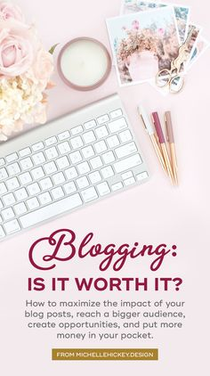 Is blogging actually worth it? Spoiler alert: YES. This article explores how to maximize the impact of your blog posts, reach a bigger audience, create opportunities, and put more money in your pocket. { Includes a FREE CHECKLIST to help improve the value