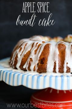 Apple Spice Sour Cream Bundt Cake Recipe on Yummly