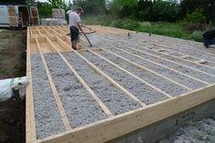 système de plancher dalle isolée Plus
